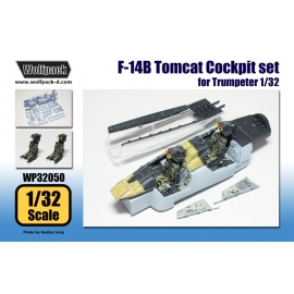 F-14B Tomcat Cockpit set (for Trumpeter 1/32)