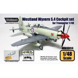 Westland Wyvern S.4 Cockpit set (for Trumpeter 1/48)