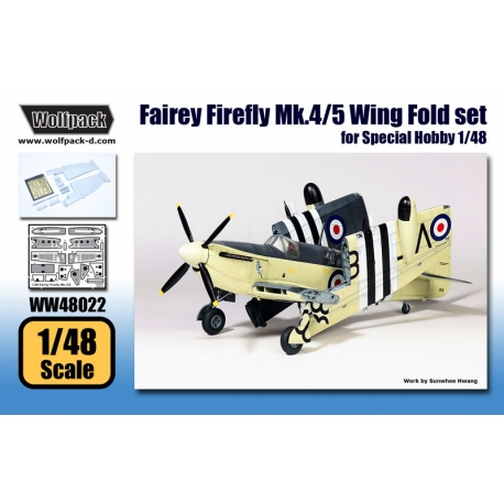 Fairey Firefly Mk.4/5 Wing Fold set (for Special Hobby 1/48)