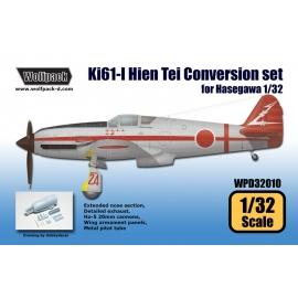 Ki61-I Hien Tei Conversion set (for Hasegawa 1/32)