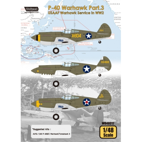 P-40 Warhawk Part.3 - USAAF Warhawk Service in WW2