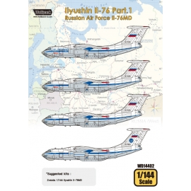 Ilyushin Il-76 Part.1 - Russian Air Force Il-76MD (for Zvezda 1/144)
