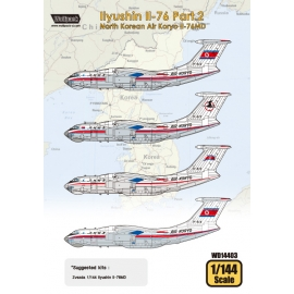 Ilyushin Il-76 Part.2 - North Korean Air Koryo Il-76MD (for Zvezda 1/144)