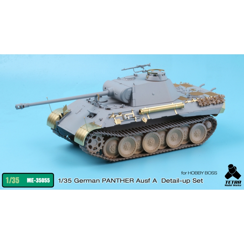 1/35 German PANTHER Ausf  A Detail-Up Set for HOBBYBOSS