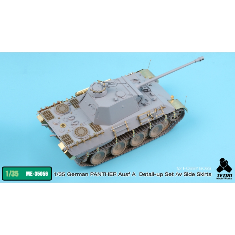 1/35 PANTHER Ausf  A Detail-Up Set w/ Side Skirts for