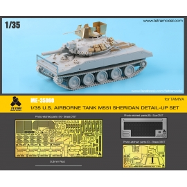 1/35 U.S TANK M551 SHERIDAN DETAIL-UP SET for TAMIYA