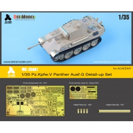 1/35 Pz.Kpfw. V Panther Ausf. G Detail-up Set for ACADEMY
