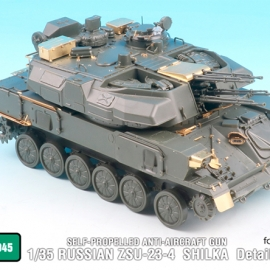 1/35 RUSSIAN ZSU-23-4 SHILKA Detail up set (for MENG TS-023)