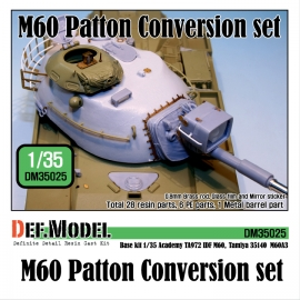 M60 Patton Conversion set 1/35