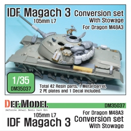 IDF Magach 3 Conversion set /w stowage 1/35