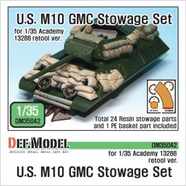 U.S. M10 GMC Stowage Set 1/35