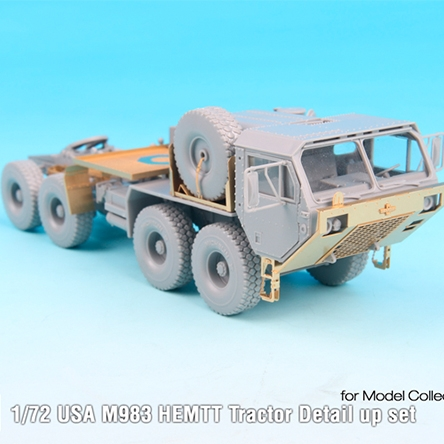 Modelcollect 1//72 US M983 Hemtt Tractor Yellow 2010s