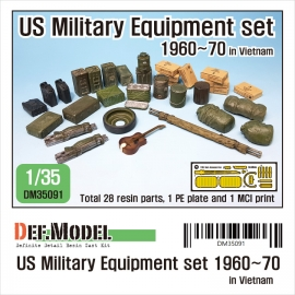 1/35 U.S. military Equipment set -1960~70