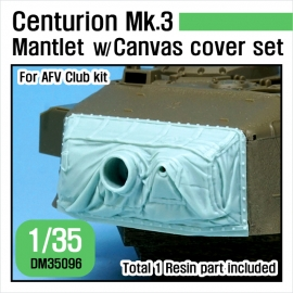Centurion Mk.3 Mantlet w/ Canvas cover set 1/35