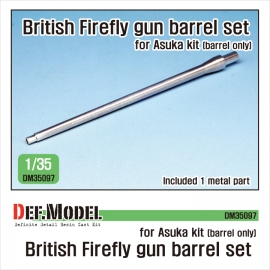 British Sherman Firefly metal barrel 1/35