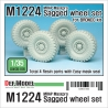 M1224 MRAP MaxxPro Sagged Wheel set 1/35