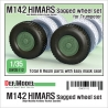 US M142 HIMARS Sagged Wheel set 1/35