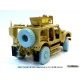 US M1240A1 M-ATV Sagged Wheel set 1/35