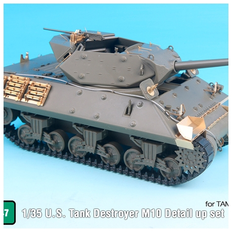 1/35 U.S. Tank Destroyer M10 Detail up set (for Tamiya 35350)
