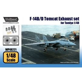F-14B/D Tomcat Exhuast set (for Tamiya 1/48)