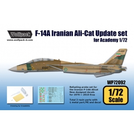F-14A Iranian Ali-Cat Update set (for Academy 1/72)