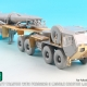 1/72 USA M983 Tractor w/Pershing II Missile Erector Launcher Detail up set (for Model collect)