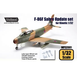 F-86F Sabre Update set (for Kinetic 1/32)