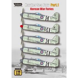 Hawker Sea Fury Part.1 - Korean War Furies (for Airfix 1/48)