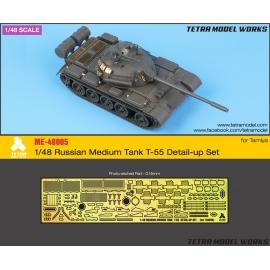 [ME-48005] 1/48 Russian Medium Tank T-55 Detail-up Set (for Tamiya)