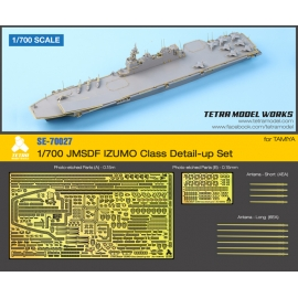 [SE-70027] 1/700 JMSDF IZUMO Class Detail-up Set for TAMIYA