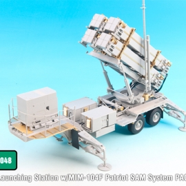 1/35 U.S. M901 Launching Station w/MIM-104F Patriot System PAC-3 Detail-up set (for Trumpeter)