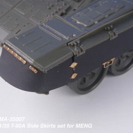 1/35 Russian T-90A Side Skirts set for MENG
