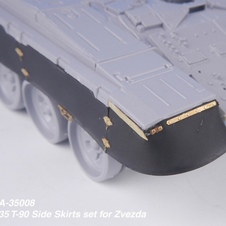 1/35 Russian T-90 Side Skirts set for ZVEZDA