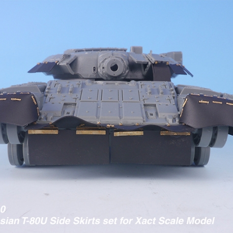 1/35 Russian T-80U Side Skirts set for Xact Scale Model