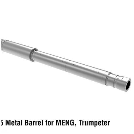 Russian 125mm 2A46M-5 Metal Barrel for MENG, Trumpeter