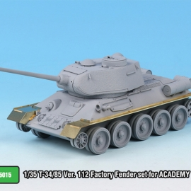 1/35 T-34/85 Ver. 112 Factory Fender set for ACADEMY