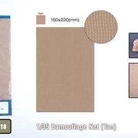 1/35 Camouflage Net (Tan)