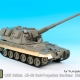 1/35 British AS-90 Self-Propelled Howitzer Side Skirts set for Trumpeter