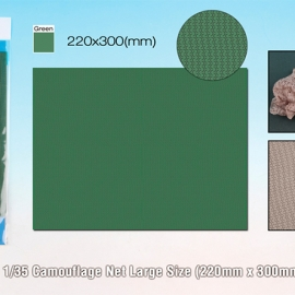 1/35 Camouflage Net Large Size (220mm x 300mm Green)