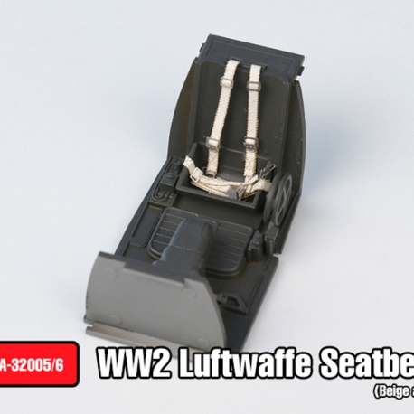 WW2 LUFTWAFFE Seatbelts set(Beige color)