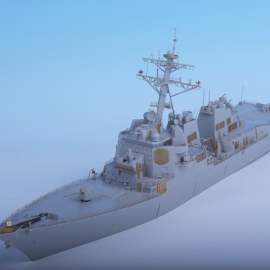 1/350 USN DDG-82 USS LASSEN Detail up set for Trumpeter