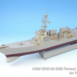 1/350 USN DDG-98 FORREST SHERMAN Detail up set for Trumpeter